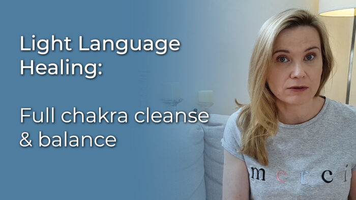 Light Language Healing: Full chakra cleanse & balance video