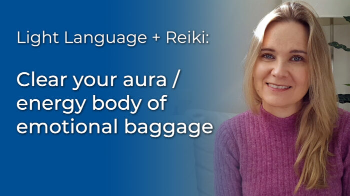 Light Language Healing: Clear your aura video
