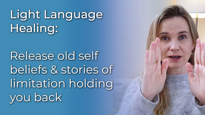 Light Language Healing: Release limiting beliefs video